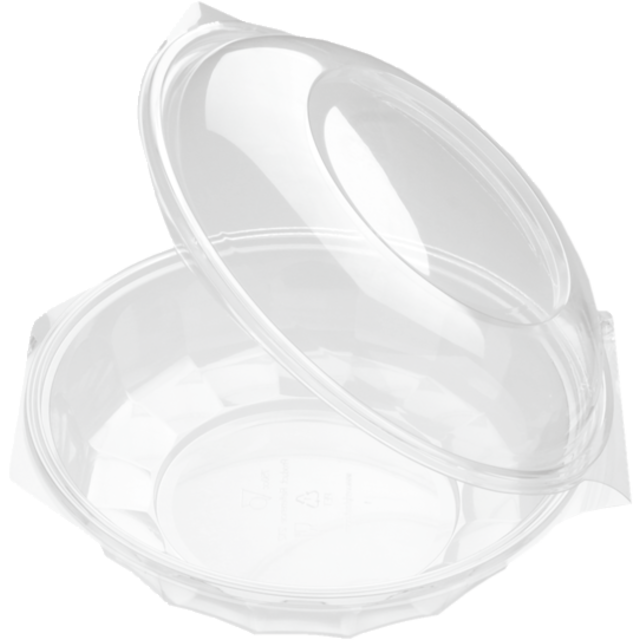 Bak, PET, 750ml, saladebowl, 74mm, glashelder 1