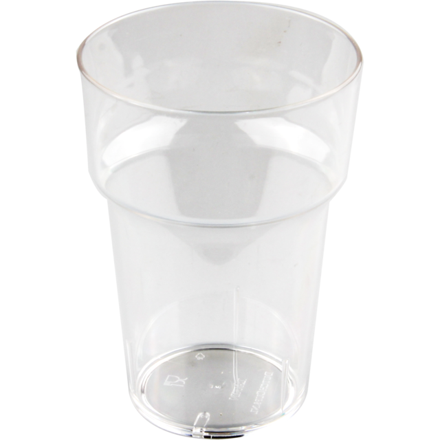 Glas, bierglas, onbreekbaar, PETG, durable (500x), 280ml, 105mm, transparant 1
