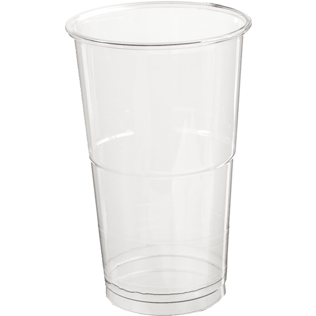 Glas, bierglas, splintervrij, PET, 350ml, 124mm, glashelder 1