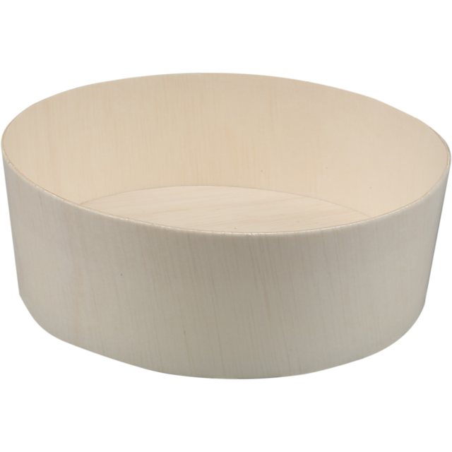 Biodore® Container, Falcata wood, Ø135mm, 45mm, natural 1