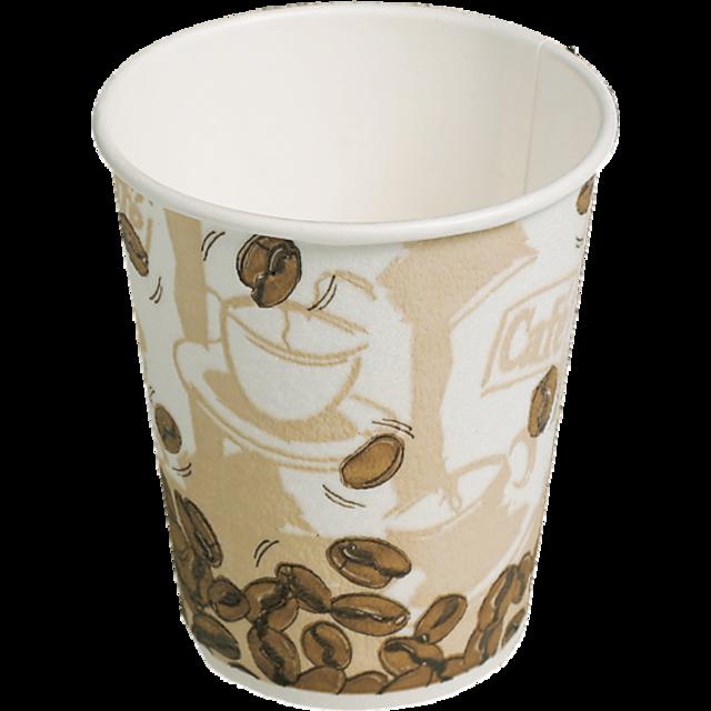 environ 226.79 g Kraft Ripple papier Tasse à caféPlastique//Libre compostable /& bagasse Couvercles 8 oz